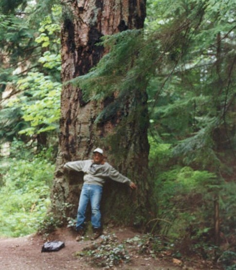 The Anacortes Community Forest Lands were protected through the effort of community members. Photograph credit: Skagit Land Trust staff.