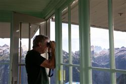 Russ Dalton at the Miners Ridge Lookout